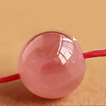 DIY Jewelry 4mm Pink Crystal Charm for Bracelet
