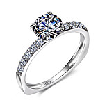 Engagement Wedding Ring Solid 925 Sterling Silver Jewelry Cubic Zirconia Wedding Ring Fashion Jewelry For Women Gift