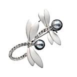 Damenmode Accessoires Brosche romantische Kristall klassische Libelle cravat Broschen Schmuck