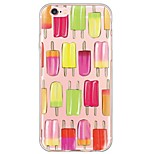 Per Custodia iPhone 6 / Custodia iPhone 6 Plus Ultra sottile / Traslucido Custodia Custodia posteriore Custodia Cartone animato Morbido