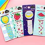 Children Pupils Metal Mini Magnet Fine Bookmark Lovely Stationery (Fruit)