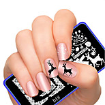 Latest Style Superior Festival Series Pattern Nail Art Stamping Image Template Plates