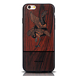 Birds Series TPU Material Effect Woodcut Prints Phone Case for iPhone 6/6 S /6 Plus/6S Plus (Assorted Colors)