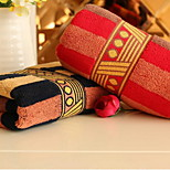 Red And Blue Stripes Gifts Creative Couple Towel