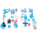 Conjunto de muebles de casa de muñecas muchacha dulce