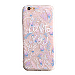 Air Cushion Shell Matte TPU Relief Heart-Shaped Hollow Flower Phone Case for iPhone 6/6s/6 Plus/6S Plus