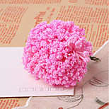 New Stars Pe Dried Lavender Bubbles Grass Artificial Flowers 144/Pack