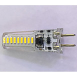 1 pcs G4 3W 18x3014SMD 300 LM Warm White / Cool White T Decorative Bi-pin Lights AC/DC 12V