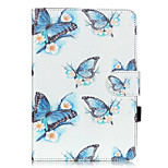 PU Leather Material Butterfly Embossed  Pattern Tablet Sleeve for iPad mini 1 / 2 / 3