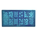 Nail Art Stamping Plate Stamper Scraper 12.7*6.7cm