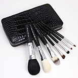 7Pcs Crocodile Grain Brush Sets