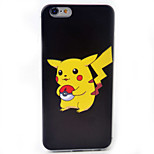 Pikachu 3 Pattern Material TPU Phone Case For iPhone 6s/6/6s Plus/6 Plus