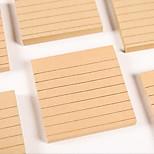 Simple Color Kraft Paper Post-it Notes