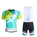 Cycyling PaladinSport Men Shirt + Straps Shorts Suit BKT648 Operation
