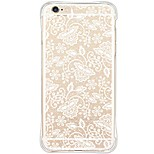 Lace printing TPU Drop resistance/Dustfree/Waterproof/High Purity Soft Back Cover For i6s Plus/6 Plus/6s/6/SE/5S/5
