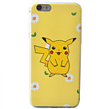 Pikachu 1 Pattern Material TPU Phone Case For iPhone 6s/6/6s Plus/6 Plus