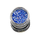 1 Bottle Nail Art Match Color Highlight Glitter Shining Colorful Powder Nail Makeup Beauty 07