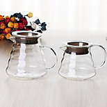 Household Drip Coffee Pot Type Glass Clouds Pot (350ml)