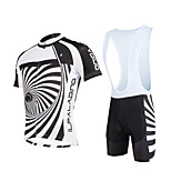 Cycyling PaladinSport Men Shirt + Straps Shorts Suit BKT652 Whirlpool