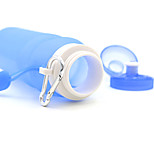 Silicone cup folding portable outdoor travel kettle bottle