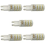 5pcs G9 45LED 3014SMD 4W 300LM 3000K/6000K Warm White/Cool White Light Lamp Bulb(AC200-240V)