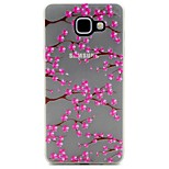 Flower Pattern Pattern Relief Glow in the Dark TPU Phone Case for Motorola Moto G4/G4 Play