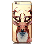 Para Funda iPhone 6 / Funda iPhone 6 Plus Diseños Funda Cubierta Trasera Funda Animal Suave TPU AppleiPhone 6s Plus/6 Plus / iPhone 6s/6