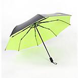 Little Personalized Personality Umbrella Folding Umbrella Men And Women A Little Devil Sunny Three Folding