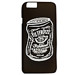 Cans Feel Slick Surface PC Material Phone Case for iPhone 6 6S 6 Plus 6S Plus