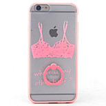 PC+TPU Material Bra Frosted Relief Bracket Phone Case for iPhone 6s/6/6s Plus/6 Plus