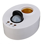 PIR Induction Motion Sensor IR infrared Human E27 Plug Socket Switch Base Led Bulb light Lamp Holder(AC100-240V)