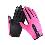 Cycling Gloves / Ski Gloves / Touch Gloves Winter Gloves Unisex Keep Warm Ski & Snowboard Pink / Black / Blue Canvas Free Size