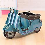 DIY Cardboard Desktop Storage Box(Motorcycle)