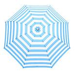 Navy Stripes Bar High-Density Carom Arming Uv Clear Umbrella Umbrellas
