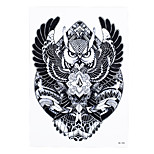 1pc Waterproof Decal Geometry Flying Owl Tattoo Design Women Men Body Arm Art Temporary Tattoo Sticker HB-398
