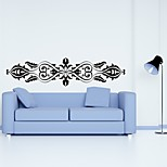 AYA™ DIY Wall Stickers Wall Decals,  Flower Rattan Type PVC Panel Wall Stickers 29*120cm