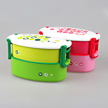 YEEYOO Brand Double Layers Bento Lunch Box