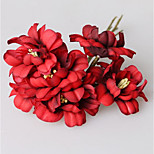 Cherry Cloth Simulation Package Romantic Pastoral Style Jewelry Wreath Decoration