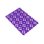 Heart Candy Color Stitching Bath Mat Free Stitching Stitching Bath Mat Bath Shower Mat 70G