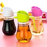 Leak Proof Oil Can Glass Kitchen Tank Vinegar Bottle Large-sized Condiment Bottles