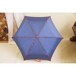 Super Light Mini Portable Hook Three Folding Uv Sunshade Umbrella