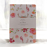 Message Flower Small Fresh Floral Notes A5 Notebook