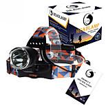 Sangle de Lampe Frontale LED 3 Mode 3000LM Lumens Rechargeable / Taille Compacte / Haute Puissance Cree XM-L T6 18650