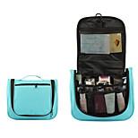 Portable Travel Wash Bag With Hook Type Waterproof Nylon Wash Bag