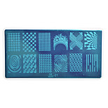 1pcs Nail Art Stamping Plate Colorful Image Design DIY Image painting Nail Tool UB21-25