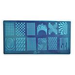 Nagel-Kunst-Platte Stamper Scraper 12.7*6.7cm