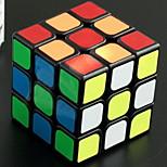 Toys / Magic Cube 3*3*3 / Magic Toy Smooth Speed Cube Magic Cube puzzle Rainbow Plastic