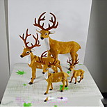 Simulation Deer Fawn New Year Spring Festival Gift Wedding Supplies Hotel Opened In The Mall Christmas Ornaments