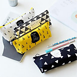 South Korean Stationery Mixed Batch Of Wheat And - Meme Bear Trapezoidal Pencil Stationery Pencil Case Pencil Bags 59G