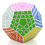 Shengshou® Stress Relievers / Magic Cube / Puzzle Toy Megaminx Professional Level Smooth Speed Cube Black / White Plastic Toys